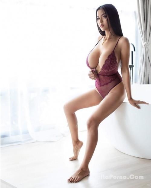 Faii Orapun Nude Instagram Model Big Tits 1
